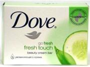 Dove Beauty Cream Bar Soap, FRESH TOUCH, 4.75oz bars (Case of 48)