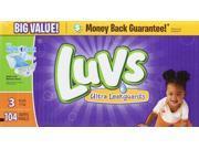 Luvs Ultra Leakguards Diapers (16-28 lb) - 104 CT