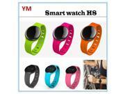 H8 smart watch , Bluetooth smartwatch ,Wristband smart watch  Sleep test exercise program step call reminder Safety warning as gift - Green