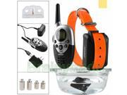 1000 Yard Waterproof Shock Vibra Remote Training Collar for Small Med Large Dog 9SIA8TC5R81093