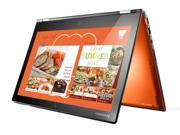 "Lenovo Yoga 2 Pro Convertible Ultrabook (59428042)- Core i7-4510U, 256GB SSD, 8GB RAM, 13.3"" QHD+ 3200x1800 Touchscreen, Intel 7260-N WiFi, Bluetooth, Backlit Keyboard, Windows 8.1 (Clementine Orange)"