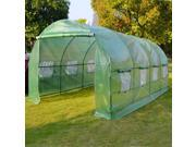 Larger Hot Green House 20'X10'X7' Walk In Outdoor Plant Gardening Greenhouse