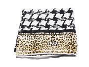 Roberto Cavalli Mens Headscarf Black Silk
