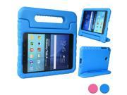 Cooper Cases(TM) Dynamo Kids Case for Samsung Galaxy Tab A 8.0 (SM-T350) in Blue (Lightweight, Shock-Absorbing, Child-Safe EVA Foam, Built-in Handle and Viewing