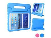 Cooper Cases TM Dynamo Kids Case for Samsung Galaxy Tab A 9.7 SM T550 in Blue Lightweight Shock Absorbing Child Safe EVA Foam Built in Handle and Viewing