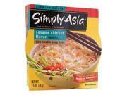 Simply Asia Rice Noodle Soup Bowl Sesame Chicken 2.5 oz Pkg 9SIADWS5W29056