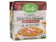 Pacific Natural Foods Organic Steel-Cut Oatmeal - Apple & Cinn 10 oz (283.5 grams) Pkg 9SIA62V54X5794