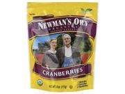 Newman's Own Organics Organic Cranberries 4 oz Pkg 9SIAD245CB4021