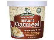 Glutenfreeda Instant Oatmeal - Brown Sugar & Flax 2.64 oz Pkg 9SIADWS5W29848