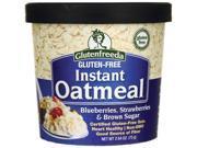 Glutenfreeda Instant Oatmeal - Blueberries, Strawberr 2.64 oz Pkg 9SIADWS5W28887