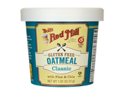 Bob's Red Mill Gluten Free Oatmeal Classic 1.81 oz (51 g) Pkg 9SIA8UA6598016