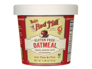 Bob's Red Mill Gluten Free Oatmeal Apple Pieces and Cin 2.36 oz (67 g) Pkg 9SIA8UA6599164