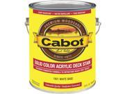 Cabot Wht Bs Solid Deck Stain