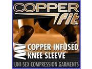 Copper Fit KNEE BRACE Compression Sleeve As Seen on TV Joint Pain Size Large