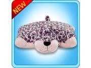 "My Pillow Pets Pink Leopard Plush, 18""/Large"