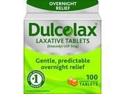 Dulcolax Laxative Tablets 100 Count