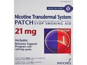 Habitrol Nicotine Transdermal System Stop Smoking Aid Step 1 21 mg 7 Patches