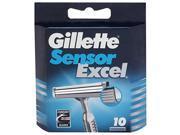 Gillette Sensor Excel Razor Refill Cartridges 10 ea