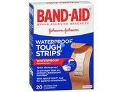 Band-Aid Tough-Strips Waterproof Bandages, 20 each by Band-Aid 9SIA8UT5AW6469