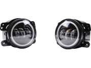30W LED Fog Lamp Set 1440 Lumens Each 4