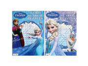 Disney Frozen Word Search Puzzles Books [2-Books - 96 Pages Each]
