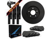 Max TA023903 [ELITE SERIES] Front + Rear OE Replacement Rotors and Ceramic Pads Combo Brake Kit 9SIA8W05Y02097