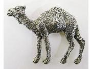 Pewter ~ Camel Full Body ~ Lapel Pin / Brooch ~ M155