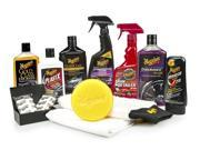 Meguiar's G55032 Complete Car Care Kit Cleaning Wax Shampoo Conditioner Auto Automobile