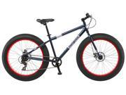 Mongoose Men's Dolomite Fat Boys Tire Cruiser Bike, Blue, 26 inch