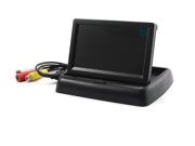 """3.5"""" Foldable TFT Color LCD Car Reverse Rearview Monitor Screen&#59;16:9 Foldable Vehicle TFT Color LCD Screen Display Rearview Monitor for Parking Camera VCR DVD VCD"""