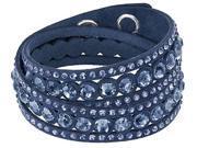 Swarovski Slake Dark Blue Dot Bracelet - 5201118