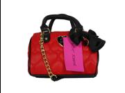 Betsey Johnson Mini Barrel Red Crossbody Handbag