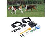 New Underground Electric Dog Fence Fencing System 2 Shock Collar Waterproof 9SIAFS976S8829