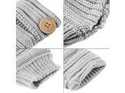 New Women Winter Thick Fingerless Mittens Knitted Warm Wrist Arm Long Gloves 9SIA9083A29604