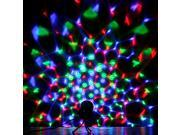 3W Colorful LED Crystal Rotating RGB Stage Light Lamp Disco Voice-activated FF 9SIV0KY40C9823