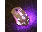 Universal USB 7 Keys Ergonomic Design Wired Gaming Mouse HTH-K1