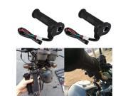 22mm Motorcycle ATV Electric Heated Molded Grips Warmer Handle Handlebar 9SIA9083VX1299