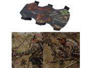 Archery Bow Arm Guard Protection Forearm Safe 3-Strap Camo Leather New thumbnail