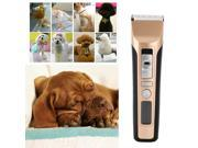 Pet Dog Cat Hair Rechargeable Electric Trimmer Grooming Clipper Kit US Plug 9SIA9083W06038