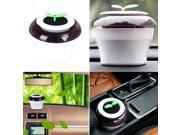Portable USB Car Air Purifier Fresh Oxygen Ionizer Coffee LED Light Glow 9SIA9083W25068