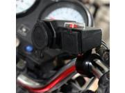 Dual USB Power Port Motorcycle Waterproof Lighter Charger Bracket For Honda 9SIA9083W25227
