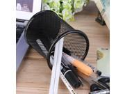 Office Desk Cosmetic Mesh Round Pen Pot Cup Case Container Organiser Holder 9SIV0KY40D1991