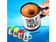 Stainless Lazy Self Stirring Mug Auto Mixing Tea Coffee Cup Office Home Gifts 9SIA9083WD8678