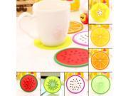 Fruit Silicone Cup Coaster Anti-Slip Mat Insulation Pad Creative Coaster 9SIA9083WD8917
