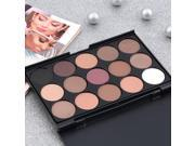 15 Color Professional Cosmetic Eye Shadow Pigments Makeup Palette Matte 9SIV0KY4R58688
