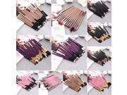 Set of 15PCS Professional pieces brushes pack complete make up brushes