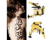 1 pcs Tattoo Machine Gun Shader Liner 8 Wrap Coils For Power Supply 9SIV0KY4BF2178