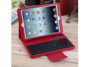 New Wireless Bluetooth Keyboard PU Leather Flip Case Cover For iPad Pro Red