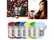 400ml Stainless Self Stirring Mug Auto Mixing Drink Tea Coffee Cup Home 9SIV0KY5K42561
