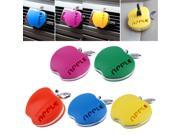 Auto Car Air Freshener Outlet Perfume Fragrance Apple Shaped Internal Form Aromatherapy Decoration for Auto Car Styling